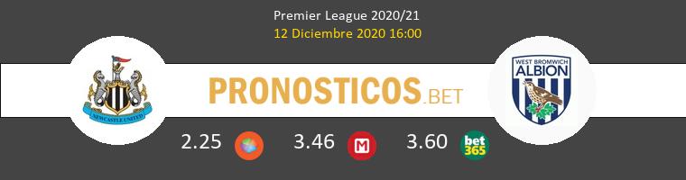 Newcastle vs West Bromwich Albion Pronostico (12 Dic 2020) 1