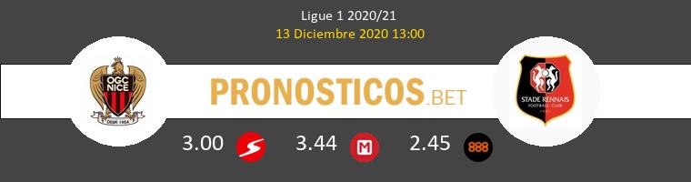 Niza vs Stade Rennais Pronostico (13 Dic 2020) 1