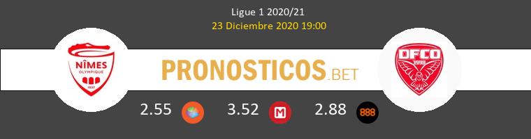 Nimes vs Dijon FCO Pronostico (23 Dic 2020) 1