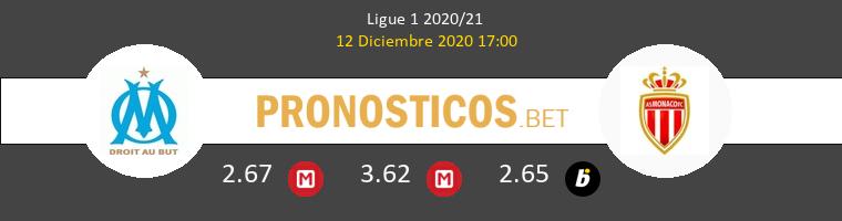 Olympique Marseille vs Monaco Pronostico (12 Dic 2020) 1