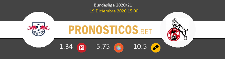 RB Leipzig vs Koln Pronostico (19 Dic 2020) 1