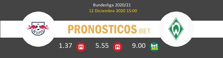 Red Bull Leipzig vs Werder Bremen Pronostico (12 Dic 2020) 1