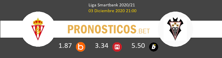 Real Sporting vs Albacete Pronostico (3 Dic 2020) 1