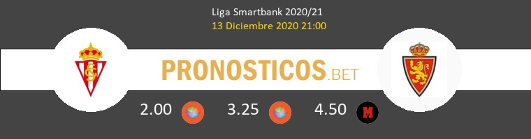 Real Sporting vs Zaragoza Pronostico (13 Dic 2020) 1