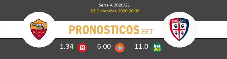 Roma vs Cagliari Pronostico (23 Dic 2020) 1