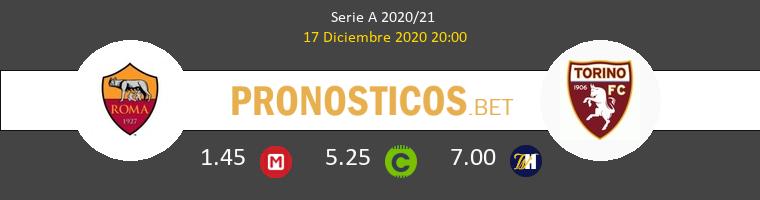 Roma vs Torino Pronostico (17 Dic 2020) 1