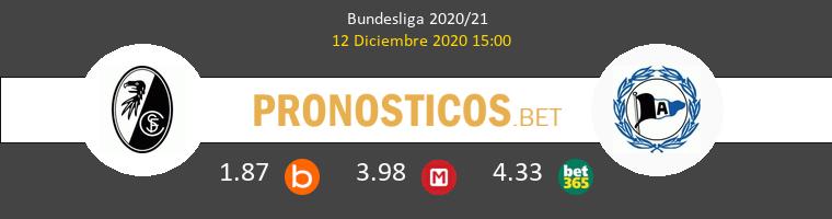 SC Freiburg vs Arminia Bielefeld Pronostico (12 Dic 2020) 1