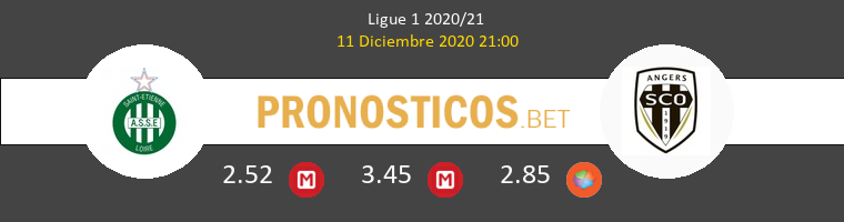 SaintvÉtienne vs Angers SCO Pronostico (11 Dic 2020) 1
