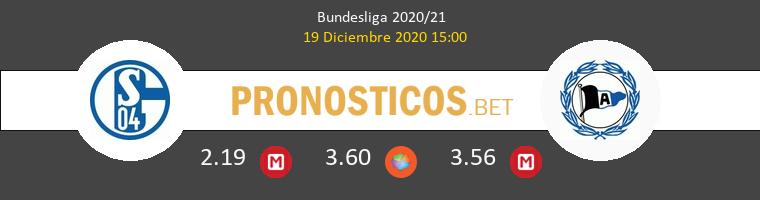 Schalke 04 vs Arminia Bielefeld Pronostico (19 Dic 2020) 1