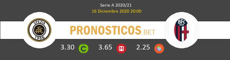 Spezia vs Bologna Pronostico (16 Dic 2020) 1