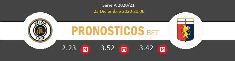Spezia vs Genova Pronostico (23 Dic 2020) 1
