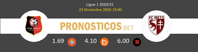 Stade Rennais vs Metz Pronostico (23 Dic 2020) 1