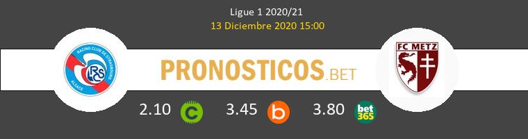 Strasbourg vs Metz Pronostico (13 Dic 2020) 1