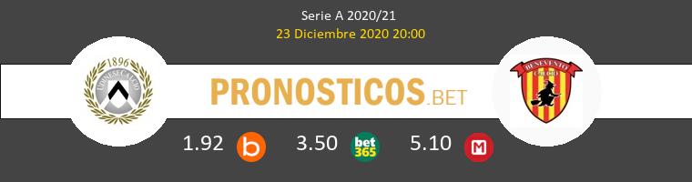 Udinese vs Benevento Pronostico (23 Dic 2020) 1