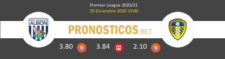 West Bromwich Albion vs Leeds United Pronostico (29 Dic 2020) 1