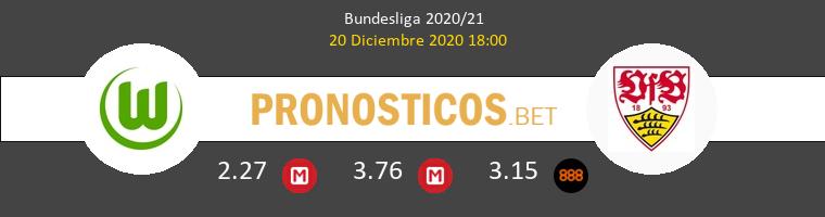 Wolfsburg vs Stuttgart Pronostico (20 Dic 2020) 1
