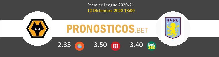 Wolverhampton Wanderers vs Aston Villa Pronostico (12 Dic 2020) 1