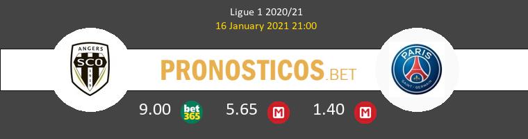 Angers SCO vs PSG Pronostico (16 Ene 2021) 1
