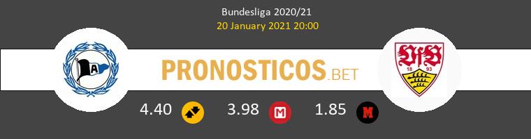 Arminia Bielefeld vs Stuttgart Pronostico (20 Ene 2021) 1