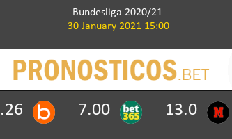 Borussia Dortmund vs FC Augsburg Pronostico (30 Ene 2021) 2