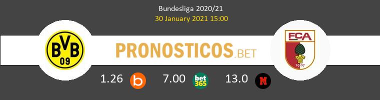 Borussia Dortmund vs FC Augsburg Pronostico (30 Ene 2021) 1