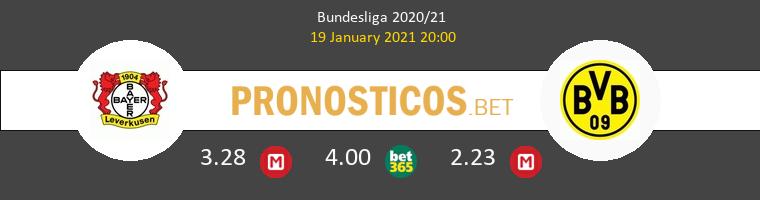 Bayer Leverkusen vs Borussia Pronostico (19 Ene 2021) 1