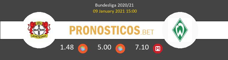Leverkusen vs Werder Bremen Pronostico (9 Ene 2021) 1