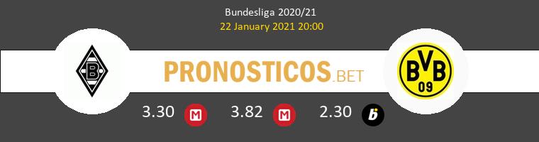 B. Mönchengladbach vs Borussia Pronostico (22 Ene 2021) 1