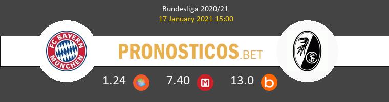 Bayern vs SC Freiburg Pronostico (17 Ene 2021) 1
