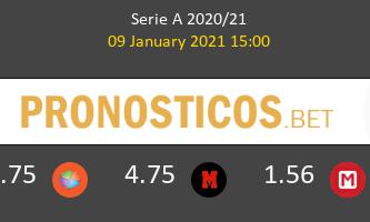Benevento vs Atalanta Pronostico (9 Ene 2021) 1