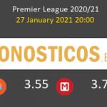 Brighton Hove Albion vs Fulham Pronostico (27 Ene 2021) 5