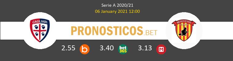 Cagliari vs Benevento Pronostico (6 Ene 2021) 1