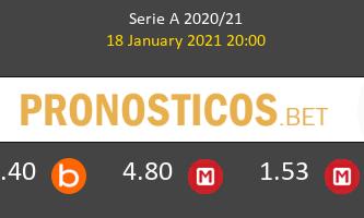 Cagliari vs AC Milan Pronostico (18 Ene 2021) 3