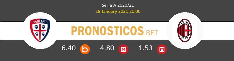 Cagliari vs AC Milan Pronostico (18 Ene 2021) 1