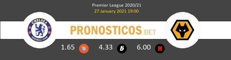 Chelsea vs Wolves Pronostico (27 Ene 2021) 1