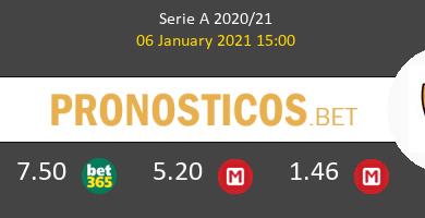Crotone vs Roma Pronostico (6 Ene 2021) 5