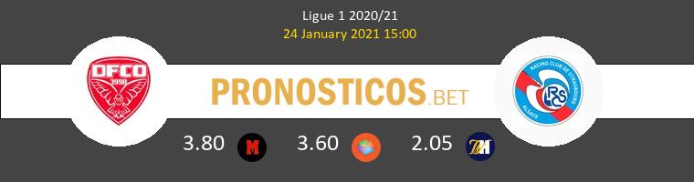 Dijon FCO vs Strasbourg Pronostico (24 Ene 2021) 1