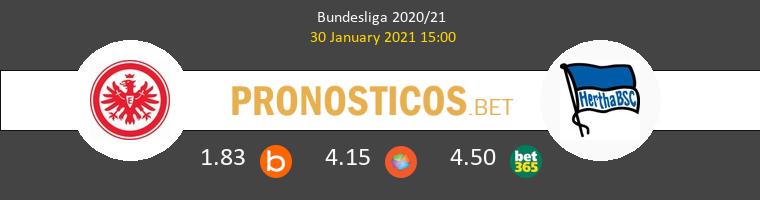Eintracht Frankfurt vs Hertha Berlín Pronostico (30 Ene 2021) 1