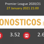 Everton vs Leicester Pronostico (27 Ene 2021) 4