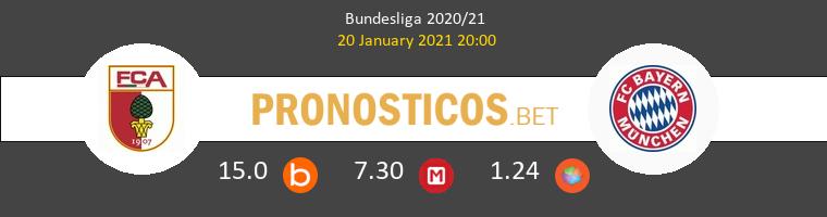 FC Augsburgo vs Bayern Munchen Pronostico (20 Ene 2021) 1