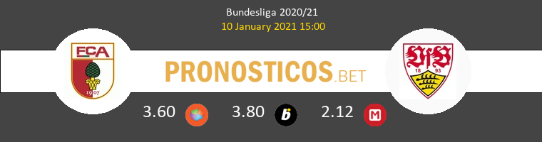 FC Augsburgo vs Stuttgart Pronostico (10 Ene 2021) 1