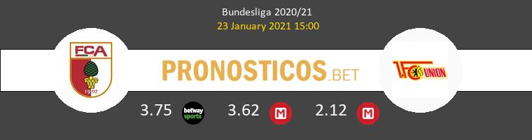 FC Augsburg vs Union Berlin Pronostico (23 Ene 2021) 1
