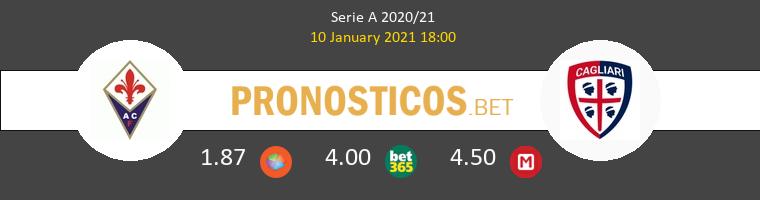 Fiorentina vs Cagliari Pronostico (10 Ene 2021) 1