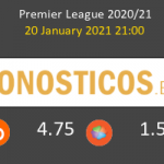 Fulham vs Manchester United Pronostico (20 Ene 2021) 3
