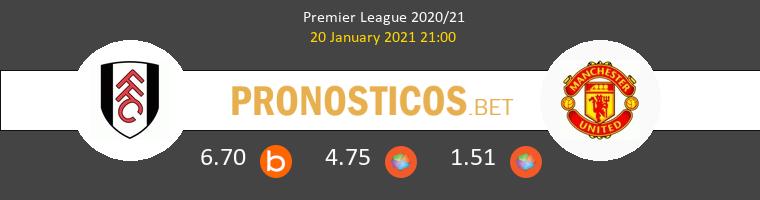Fulham vs Manchester United Pronostico (20 Ene 2021) 1