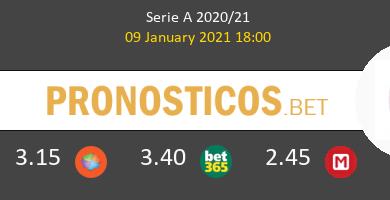 Génova vs Bologna Pronostico (9 Ene 2021) 6