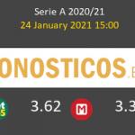 Génova vs Cagliari Pronostico (24 Ene 2021) 4
