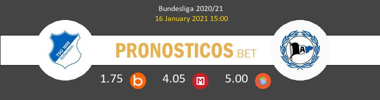 Hoffenheim vs Arminia Bielefeld Pronostico (16 Ene 2021) 1