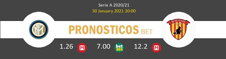 Inter vs Benevento Pronostico (30 Ene 2021) 1