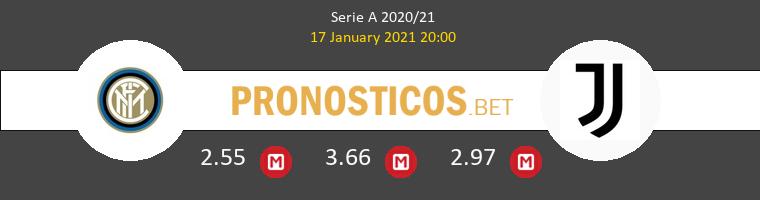 Inter vs Juventus Pronostico (17 Ene 2021) 1